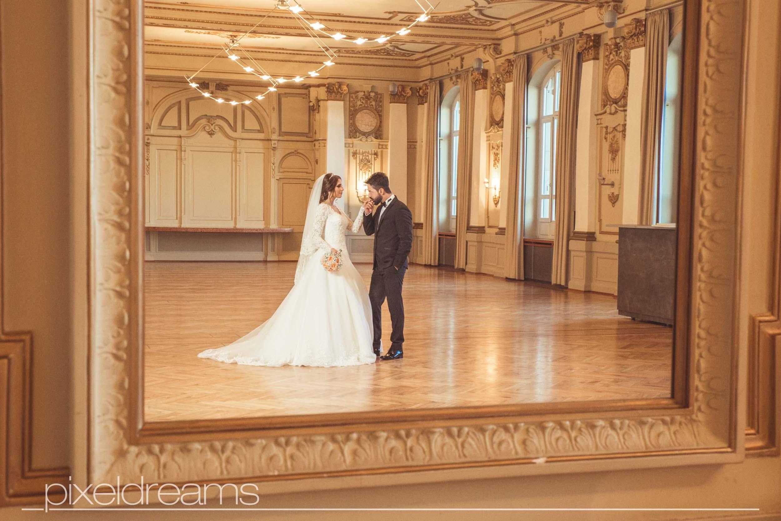 Hochzeitsfotos in der Historische Stadthalle am Johannisberg in Wuppertal – Cağla & Fatih