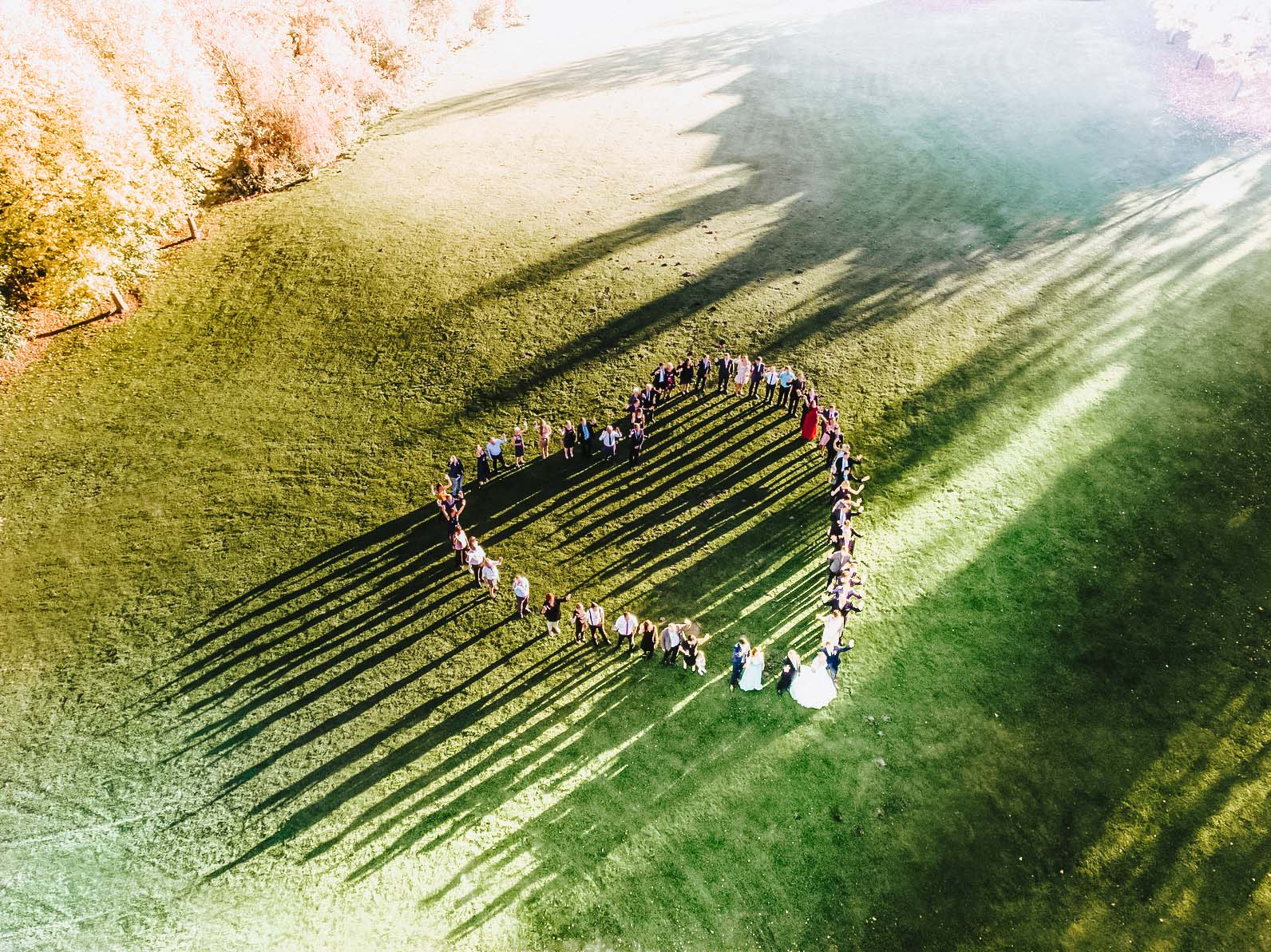 Drohnenaufnahmen Mw Hochzeitsfotografie