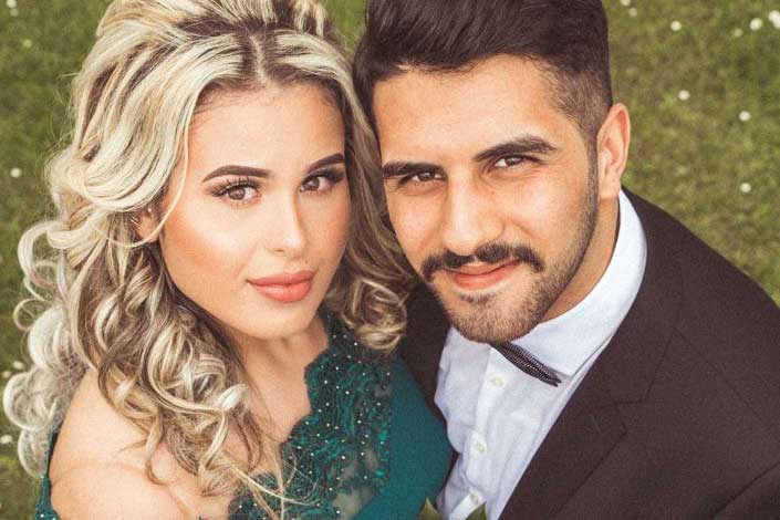 Engagement Shooting in Solingen – Rabia und Metehan Capaci