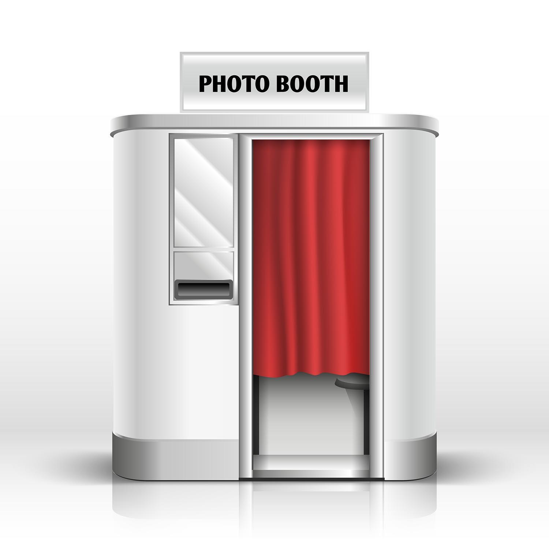 Fotoautomat-Fotokabine für Passbilder im Amt