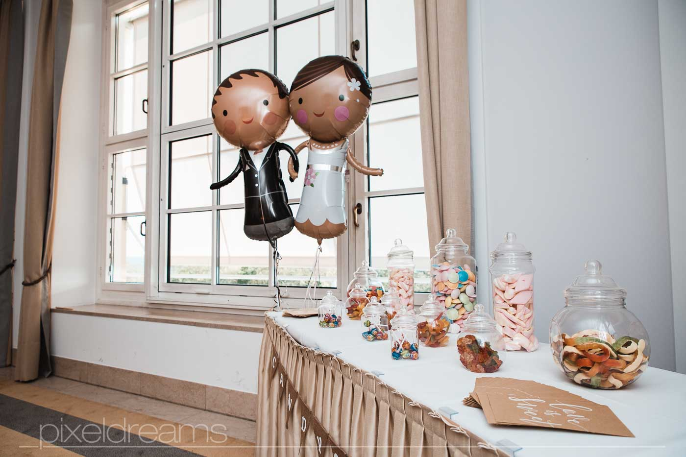 Steigenberger Grandhotel. Candybar für Hochzeit